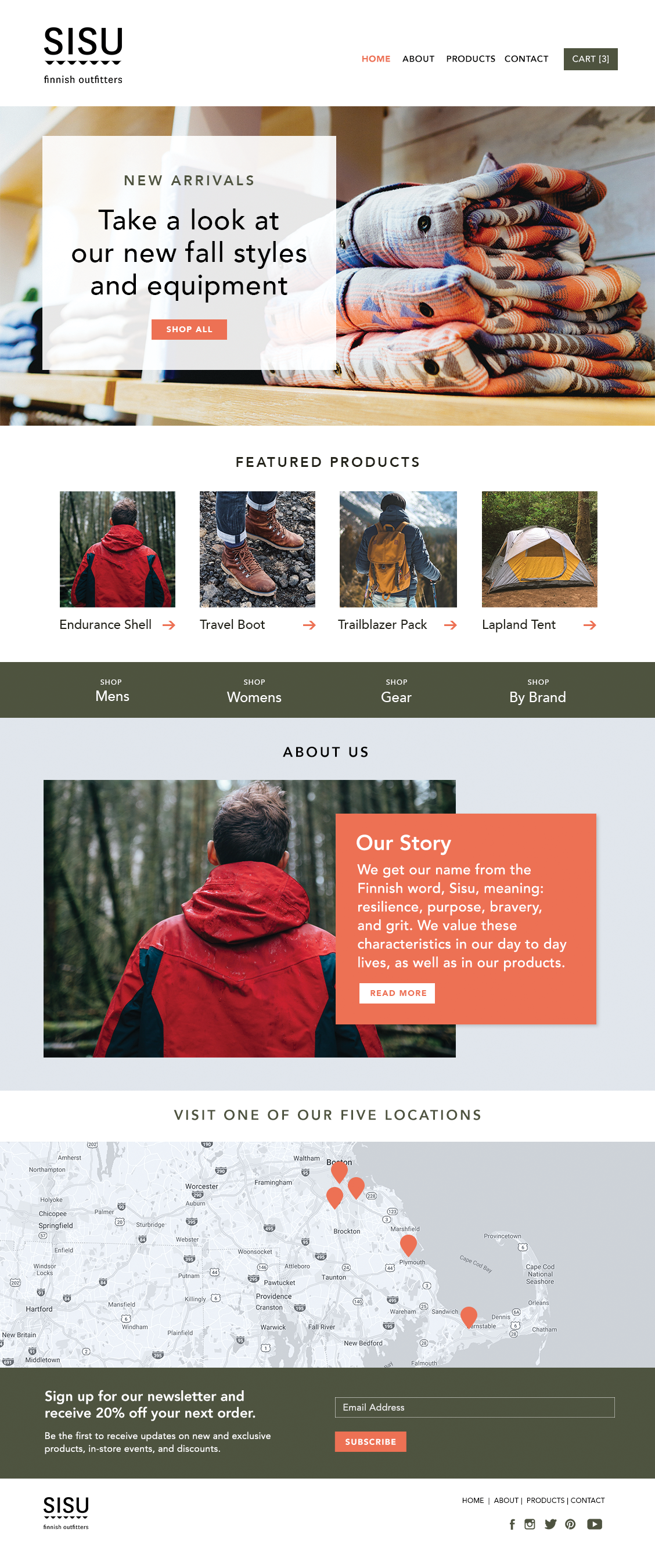 ecommerce web design tips - #5 - great lifestyle and product images