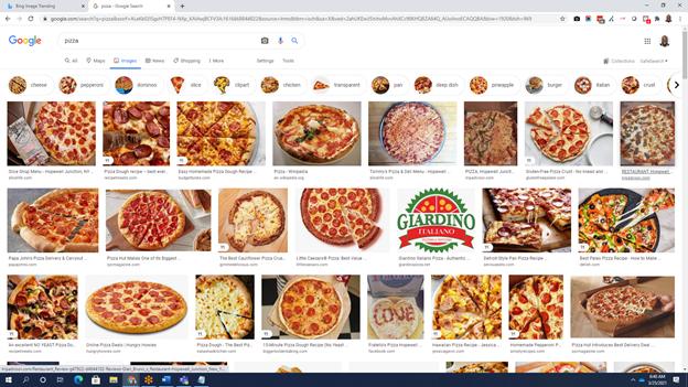 Google image search.