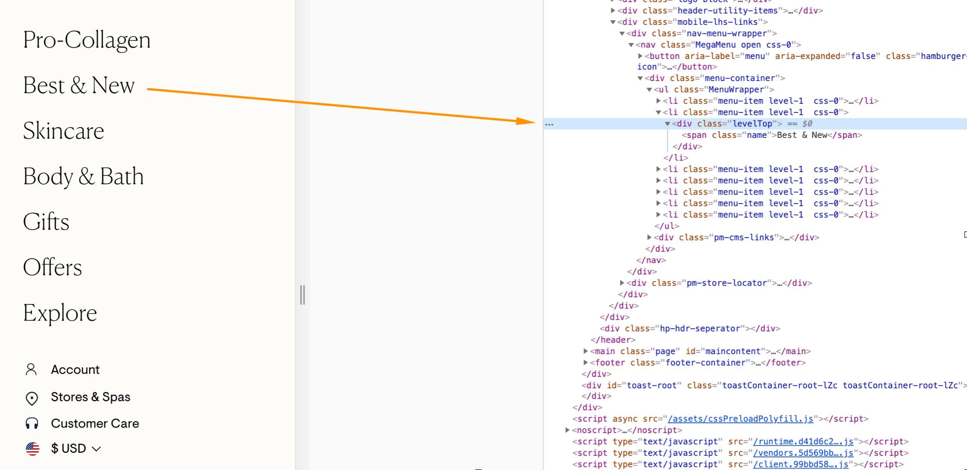 Website is not crawlable: JS SEO errors
